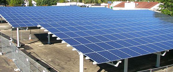 Centrale panneaux solaires